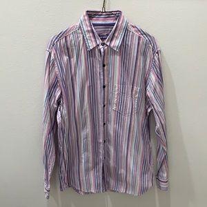 Tasso Elba men's button down shirt